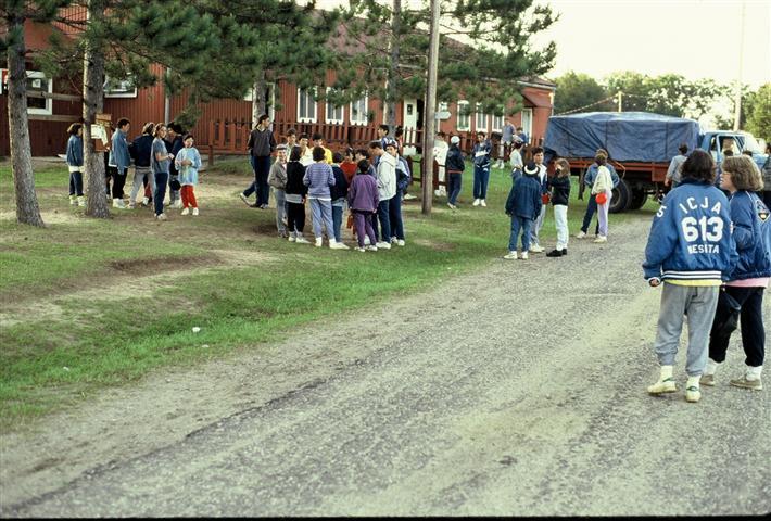camp moshava in the 1980s