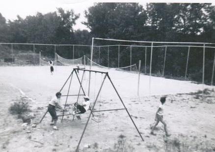 camp moshava in the 1950s
